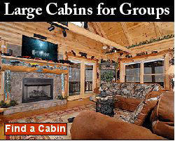 large cabins for groups