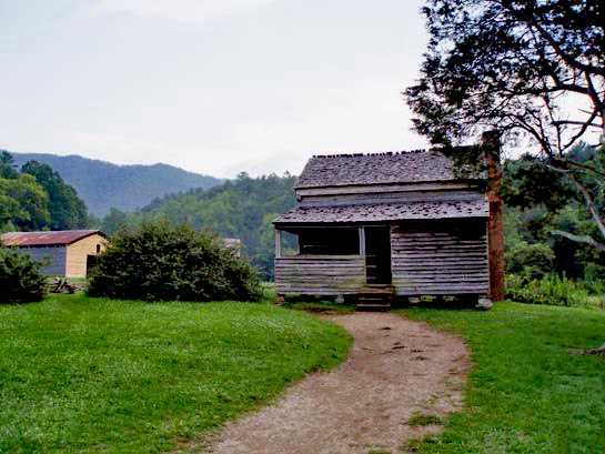 Dan lawson cabin in cades cove for Lawson adventure cabins