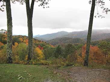 fall foliage smoky mountains