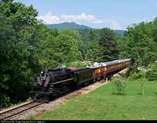 smoky mountain train ride