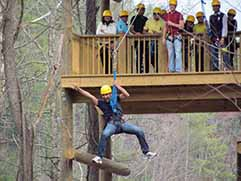 ziplines smoky mountains