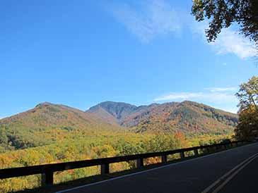 Fall Foliage Great Smoky Mountains National Park